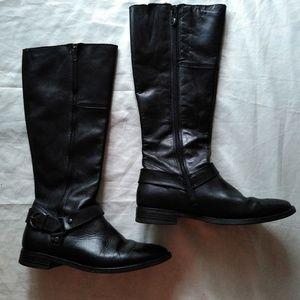 Aldo boots, black color , size 10